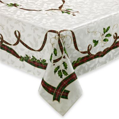 Lenox® Holiday Nouveau 70-Inch Round Tablecloth