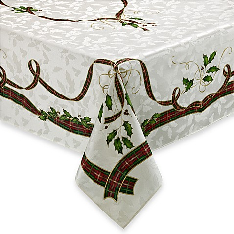 Buy lenox holiday nouveau 52 inch x 70 inch oblong for Tablecloth 52 x 120