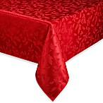 Lenox® Holly Damask Red Tablecloth