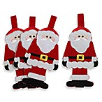 Santa Claus Utensil Holder (Set of 4)