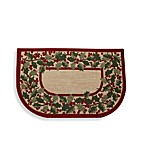 Holly Berry Slice Door Mat