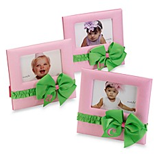 Mud Pie™ Pink Initial Bow Frame