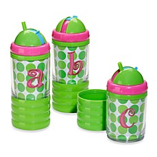 Mud Pie® Pink Letter Sip 'n Munch Cup