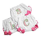 Mud Pie® Letter Bloomers in Pink