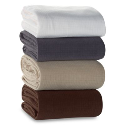 Berkshire Blanket® Polartec® Softec™ Full/Queen Blanket in Linen