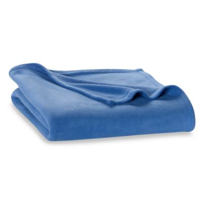 Berkshire Blanket® Original Full/Queen Fleece Blanket in Blue
