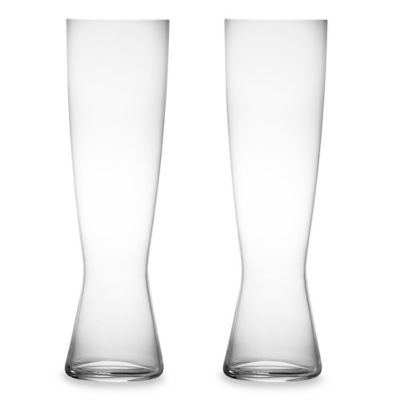 Pilsner Tall Beer Glass (Set of 2)