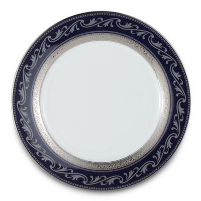 Noritake® Crestwood Cobalt Platinum 9-Inch Accent Plate