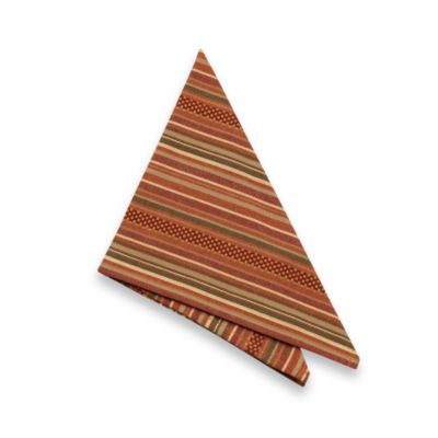 Sam Hedaya Autumn Stripe Napkins (Set of 4)