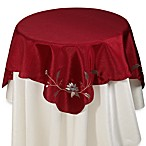 Rio 35-Inch Square Table Topper in Red