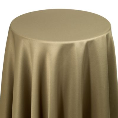 Dover 70-Inch Round Table Topper in Olive
