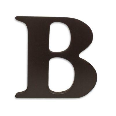 """kidsline™ Espresso Wooden Letter """"B"""""""