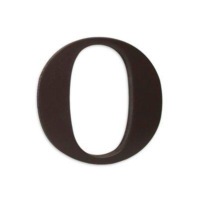 """kidsline™ Espresso Wooden Letter """"O"""""""