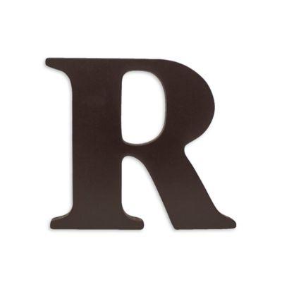 """kidsline™ Espresso Wooden Letter """"R"""""""