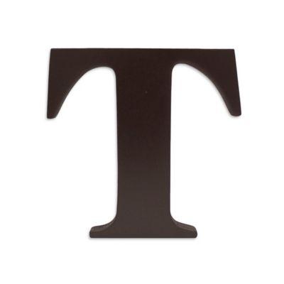 """kidsline™ Espresso Wooden Letter """"T"""""""
