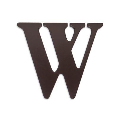 "kidsline™ Espresso Wooden Letter ""W"""