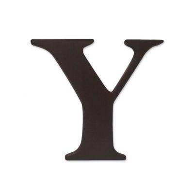 """kidsline™ Espresso Wooden Letter """"Y"""""""