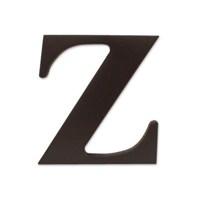 """kidsline™ Espresso Wooden Letter """"Z"""""""