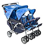 Foundations® Quad™ Four Child Stroller