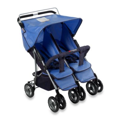 Duo-SS™ Double Side-by-Side Stroller - from Foundations