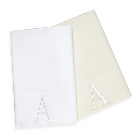 Monogram Standard/Queen Pillowcases (Set of 2)