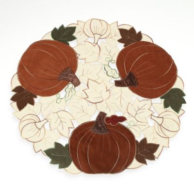 Sam Hedaya Pumpkin Party Placemat