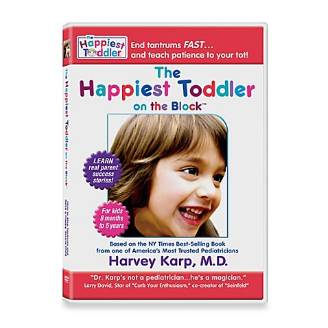 The Happiest Toddler on the Block DVD