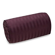Wamsutta® Damask Stripe Purple Bolster Pillow
