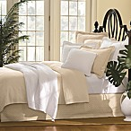 William and Mary Bone Matelasse Bedspread, 100% Cotton
