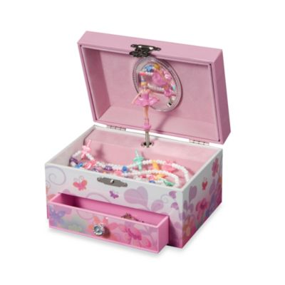 Musical Ballerina Jewelry Box