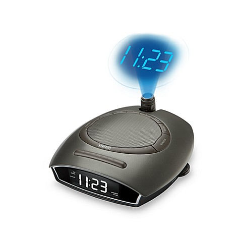 HoMedics® SoundSpa™ Auto-Set Clock Radio with Time Projection