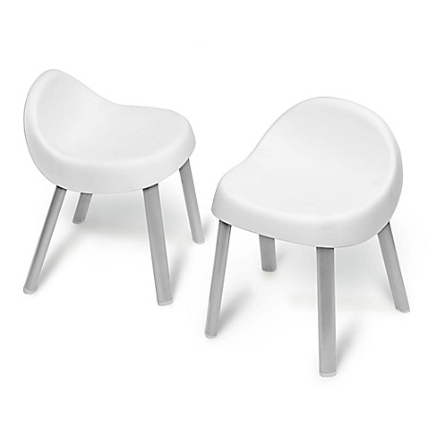 SKIP*HOP® Explore & More Kid Chairs in White (Set of 2)