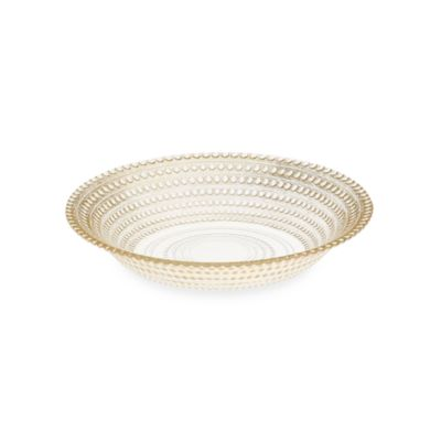 Gilded Dots Gold Leaf 7-Inch Soup Bowl