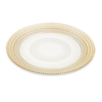 Gilded Dots Gold Leaf 13-Inch Charger Plate