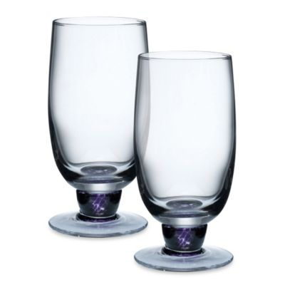 Denby Amethyst 16-Ounce Tumblers (Set of 2)