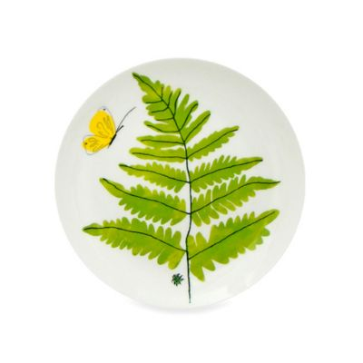 Vera™ Papillion Dream Fern 8-Inch Salad Plate