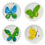 Vera™ Papillion Dream 6-Inch Canape Plates (Set of 4)