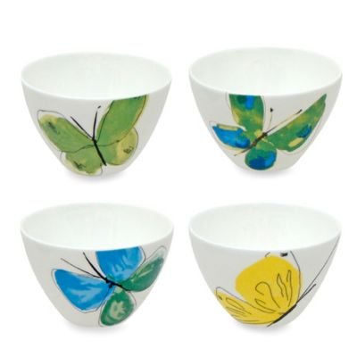 Vera™ Papillion Dream 4-Inch Mini Bowls (Set of 4)