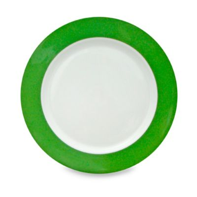 Vera™ Stripe 10 1/2-Inch Dinner Plate in Green