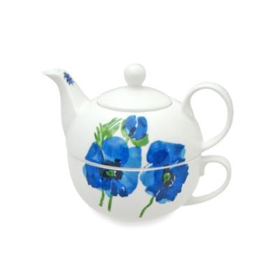 Vera™ Indigo Garden 16-Ounce Tea for One