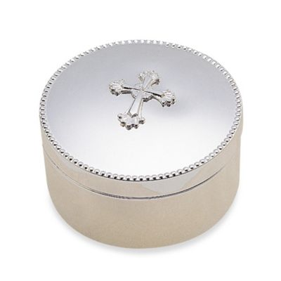 Reed & Barton® Abbey Cross Round Box
