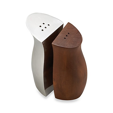 Nambe Cradle Salt and Pepper