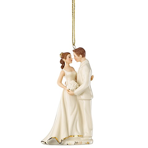 Lenox® 2010 Always and Forever Bride and Groom Ornament