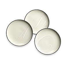 Noritake® Colorwave Monogram Graphite Accent Plates