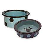 Petrageous® Designs Sassy Too Stoneware Pet Bowls