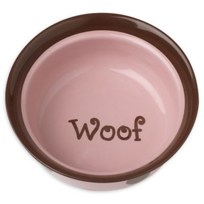 Petrageous® Designs Sassy Girl 6-Inch Round Deep Stoneware Pet Bowl