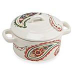 Misto Paisley Mini Round Covered Casserole Dish
