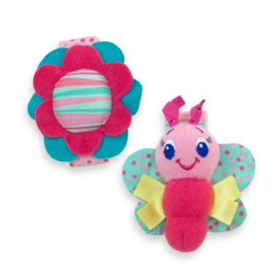 Bright Starts™ Pretty in Pink™ Rattle Me Bracelets™