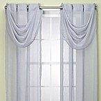 Anya Waterfall Valance in Blue