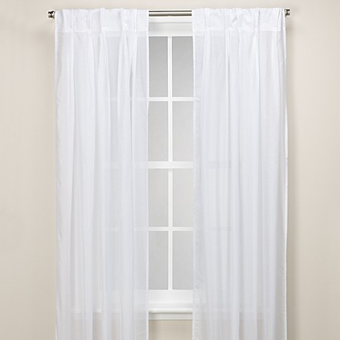 Whisper Pinch Pleat Window Panel